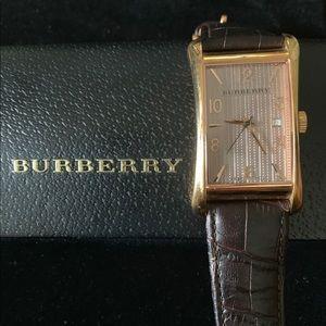 Burberry Unisex Swiss Quartz Watch